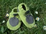 chaussons-souples-bio-taille-20-vert