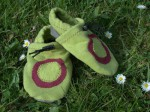 chaussons-souples-bio-taille-22-vert